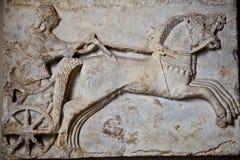 Археологическая деталь статуи Стоковое Изображение