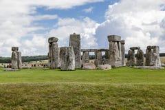 Археологические раскопки Англия Стоунхенджа стоковое фото rf