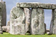 Археологические раскопки Англия Стоунхенджа стоковая фотография rf