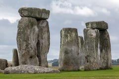 Археологические раскопки Англия Стоунхенджа стоковые изображения rf