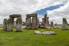 Археологические раскопки Англия Стоунхенджа стоковые фото