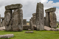 Археологические раскопки Англия Стоунхенджа Стоковая Фотография