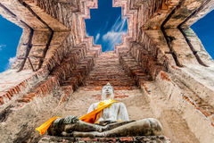 Археологические раскопки на Ayutthaya Стоковое Фото