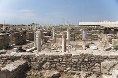 Археологические раскопки домов, Laodikeia, Турция Стоковая Фотография