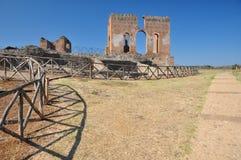 Археологические раскопки Рим, dei Quintili виллы, Appia Antica Стоковое фото RF