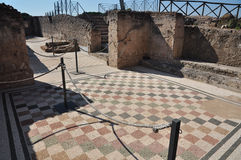 Археологические раскопки Рим, dei Quintili виллы, Appia Antica Стоковое Изображение RF