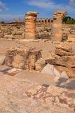 Археологические раскопки Cyrene, Cyrenaica, Ливия - место всемирного наследия ЮНЕСКО Стоковое Фото