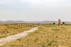 Археологические раскопки Pasargad Стоковое Изображение