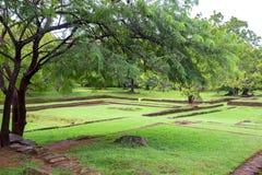 Археологические раскопки Sigiriya Стоковые Фотографии RF