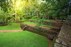 Археологические раскопки Sigiriya Стоковая Фотография