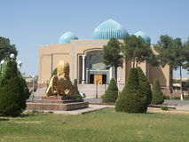 Археологический музей в Termiz стоковая фотография rf