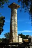 Археологическое место в Олимпии Стоковые Изображения RF