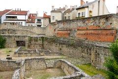 Археологическое место в Sopron Стоковая Фотография RF