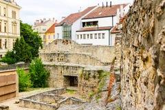 Археологическое место в Sopron Стоковые Фотографии RF