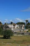 Археологическое место Chichen Itza Стоковые Изображения RF