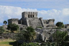 Археологическое место Chichen Itza Стоковое Фото