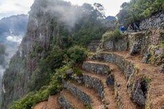 Археологическое место Machu Picchu, Перу Стоковая Фотография RF