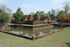 Археологическое место Prasat Muang Tam Стоковое фото RF