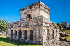 археологическое tulum руин Стоковые Фото