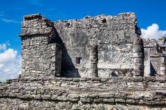 археологическое tulum руин Стоковая Фотография
