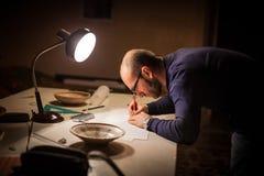 Археология Studyng Стоковые Изображения