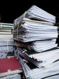 архивные файлы Стоковые Фотографии RF