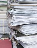 архивные файлы Стоковое Изображение RF