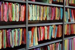 Архивные файлы стоковые изображения