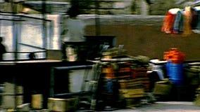 Архивный рынок одежды Вифлеема видеоматериал