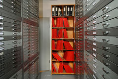 архивохранилища стоковая фотография