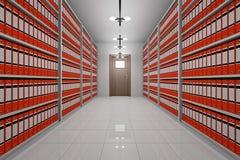 архивохранилище Стоковое Изображение RF