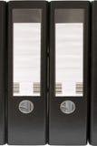 архивы свода черные передвигают с помощью рукоятки 2 Стоковые Фото