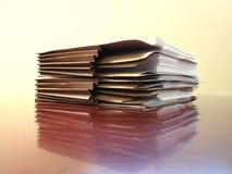 архивы стола Стоковая Фотография