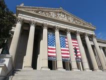 Архивы строя в DC Вашингтона Стоковая Фотография