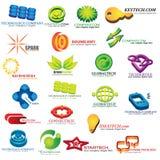 Комплект иконы компании Стоковая Фотография RF