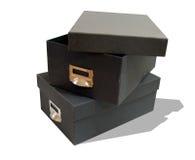 архив коробок Стоковые Фотографии RF