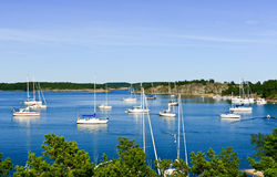 архипелаг Швеция Стоковые Изображения RF