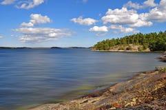 архипелаг stockholm стоковое изображение rf
