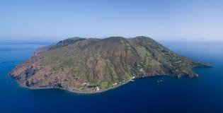 Архипелаг Эоловых островов в Сицилии Стоковые Изображения