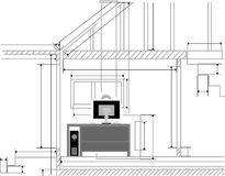 архитектор Стоковое Изображение RF