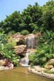 архитектор landscaping проточная вода стоковые фотографии rf