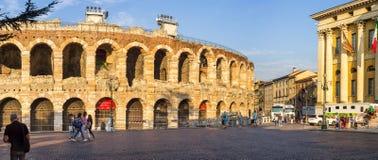Архитектура арены Вероны Стоковое фото RF