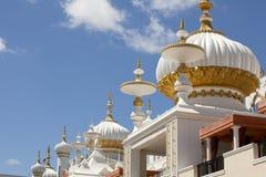 Архитектура: Ближневосточные элементы стиля Mughal Стоковая Фотография