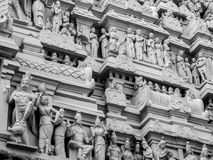 Архитектура виска Annamalaiyar в Tiruvannamalai, Индии Стоковая Фотография RF