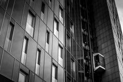Архитектура в гавани Гамбурга Стоковая Фотография