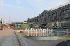 Архитектура в Дрездене Германии стоковые изображения rf