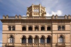 Архитектура в историческом городке добычи золота Стоковые Фотографии RF