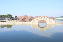 Архитектура в Китае Стоковые Изображения