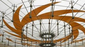 Архитектура в месте jinsha, Чэнду, фарфоре Стоковое фото RF