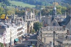 Архитектура в Оксфорде, в Великобритании Стоковая Фотография RF